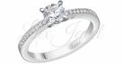Красивое брильянтовое кольцо в подарок от любимого мужчины