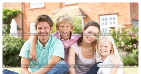 Счастливая семья, умный, добрый, самый лучший муж и дети!!!!