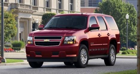 Автомобиль Chevrolet Tahoe