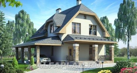 Новый большой дом