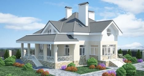 свой большой дом!!!