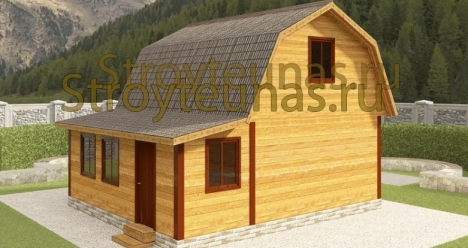 новый дачный дом