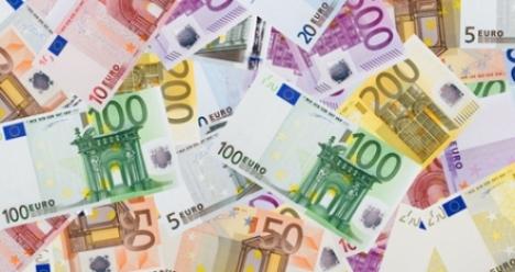 на моём банковском счету лежит миллион евро
