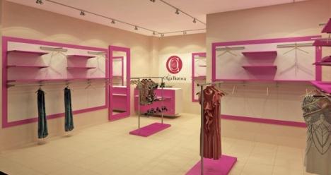 открытие бутика женской одежды в августе 2013г