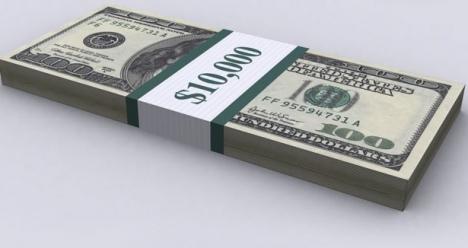 9888$ чистого личного дохода в июне 2013 года мне!
