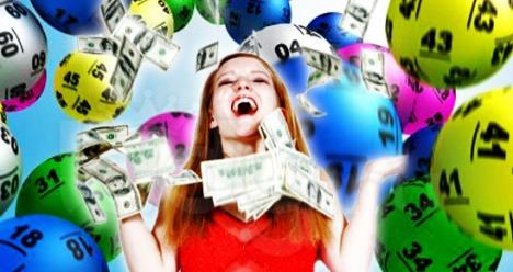 Выигрыш в лотерею джекпот