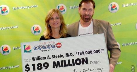 Случайно найти лотерейный билет, выиграть по нему 1 млн. руб