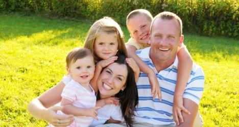 Счастливая большая семья!
