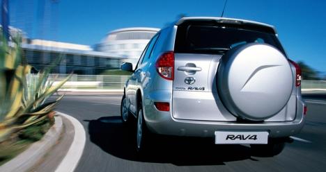 Моя машина RAV-4