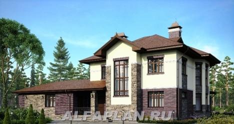 Свой, построенный в 2013 году,  дом в Калиновке