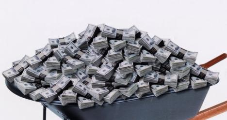 оооочень много денег