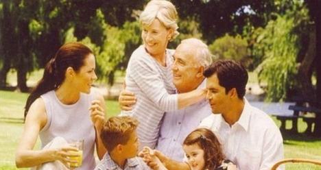 Я и вся моя семья здоровы и счастливы