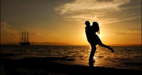 взаимная  счастливая любовь с любимым