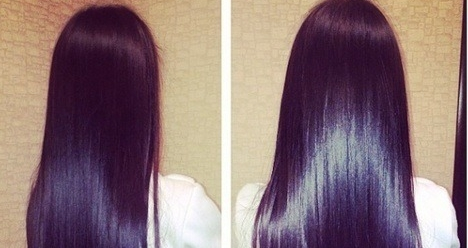 Мои волосы густые, сильные, крепкие и длинные