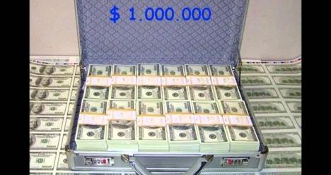 1000000 $ милион баксов