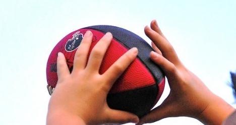 Очень хочу научится ловить мяч к четвергу )