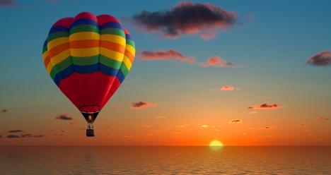 Полет на воздушном шаре!!!
