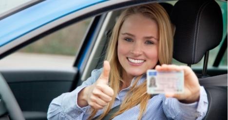 я получила водительское удостоверение