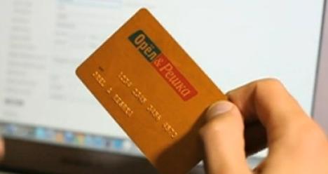 банковскую карту с бесконечным кол-во денег