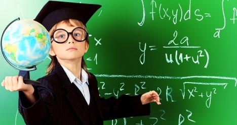 хочу чтобы я в школе был умным и получал пятёрки.