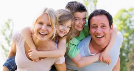 Моя счастливая обеспеченная семья.