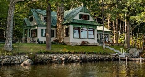 Купить самый прекрасный дом на берегу реки у леса