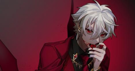 Хочу звтра стать красивым вампиром.