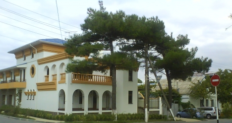 дом, вила у моря(океана)