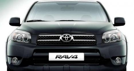 автомобиль Toyota RAV 4 черного цвета 2006 года