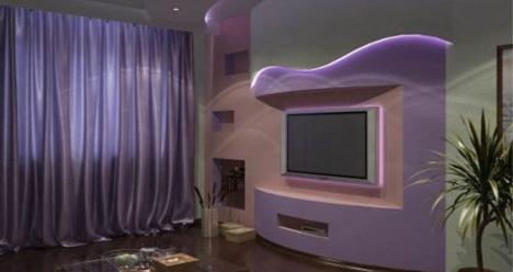 Хороший законченный ремонт в нашей гостинной!