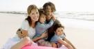 Счастливая семья муж и двое детей