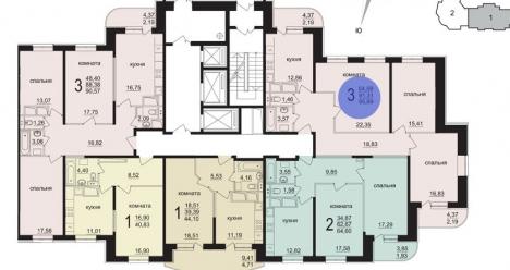 У меня своя отдельная 3-х комнатная квартира в Москве