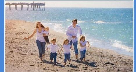 прекрасная квартира в Астане, счастливая семья