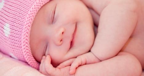 Рождение милой девочки