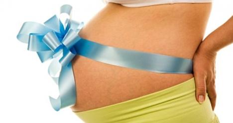 в конце этого месяца тест на беременность с двумя полосками