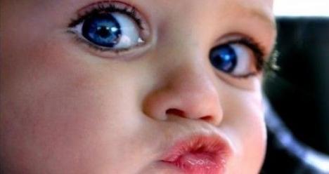Хочу, чтобы у меня народился здоровый и красивый ребенок .