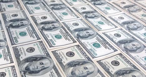 я получаю 5000000 долларов ( пять миллионов долларов