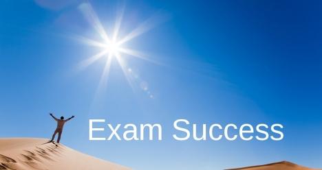 Вземам си леко и успешно Всички изпити ,на които се явявам .
