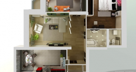 Отдельная благоустроенная квартира